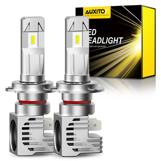 Brightest H7 LED Bulbs 60w 12,000LM/Set Dual Beam Design for High Beam and Low Beam Bulbs
