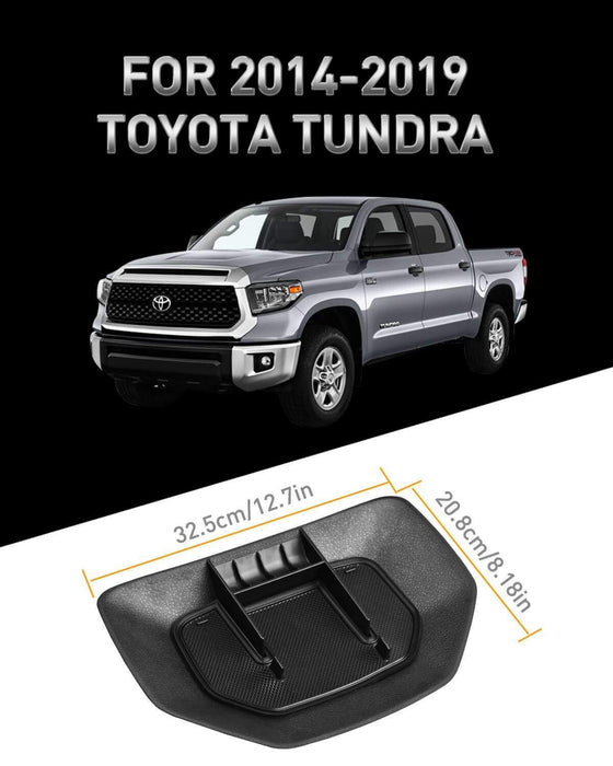 Center Dash Console for Toyota Tundra,Dashboard Center Console Organizer Dash Mount Cell Phone Holder for Toyota Tundra 2014-2019 Accessories Car