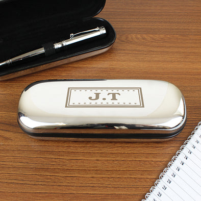 Personalised Monogram Pen and Box Set