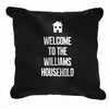 Personalised home cushion cover