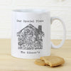 Personalised 1805 - 1874 Old Series Map Home Mug