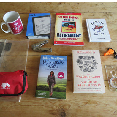 Ultimate retirement gift box for ramblers