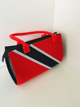 Trinidad Tobago Country Flag Theme HandCrafted Beaded Handbag.