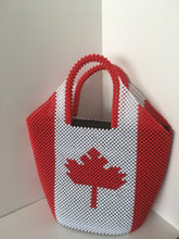 Canada Flag beaded handcrafted handbag
