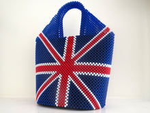 United Kingdom Flag Beaded Handbag