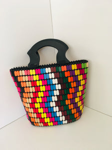 Multiple colors Beaded HandCrafted Handbag