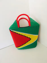 Guyana Flag Theme Beaded HandCrafted Handbag