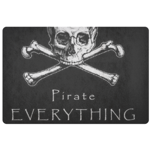 Pirate Everything Floor Mat