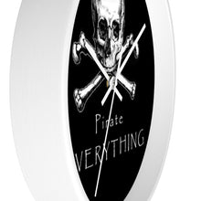 Load image into Gallery viewer, Pirate Everything Wall clock