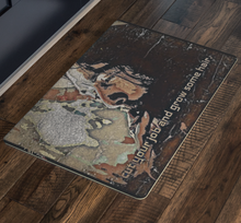 Load image into Gallery viewer, Cut Your Job and Grow Some Hair. Floor Mat