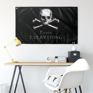 Pirate Everything Wall Flag