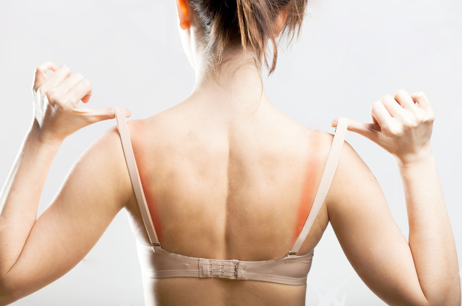 Why do I get rash near my bra area?