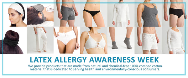 "Cottonique Supports ""Latex Allergy Awareness Week"""