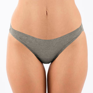 Women's Bikini Brief (2/pack | Melange Grey)