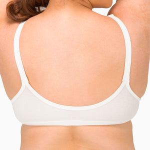 Women's Front Closure Support Bra ( Queen | Natural )