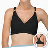 Women's Racer Back Pullover Bra ( Regular | Black )