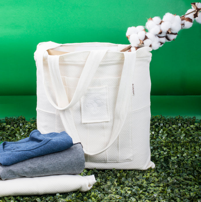 #Zero-Waste Cottonique Tote Bag