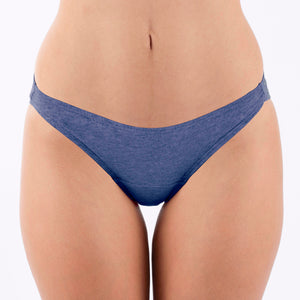 Women's Bikini Brief (2/pack | Melange Blue)