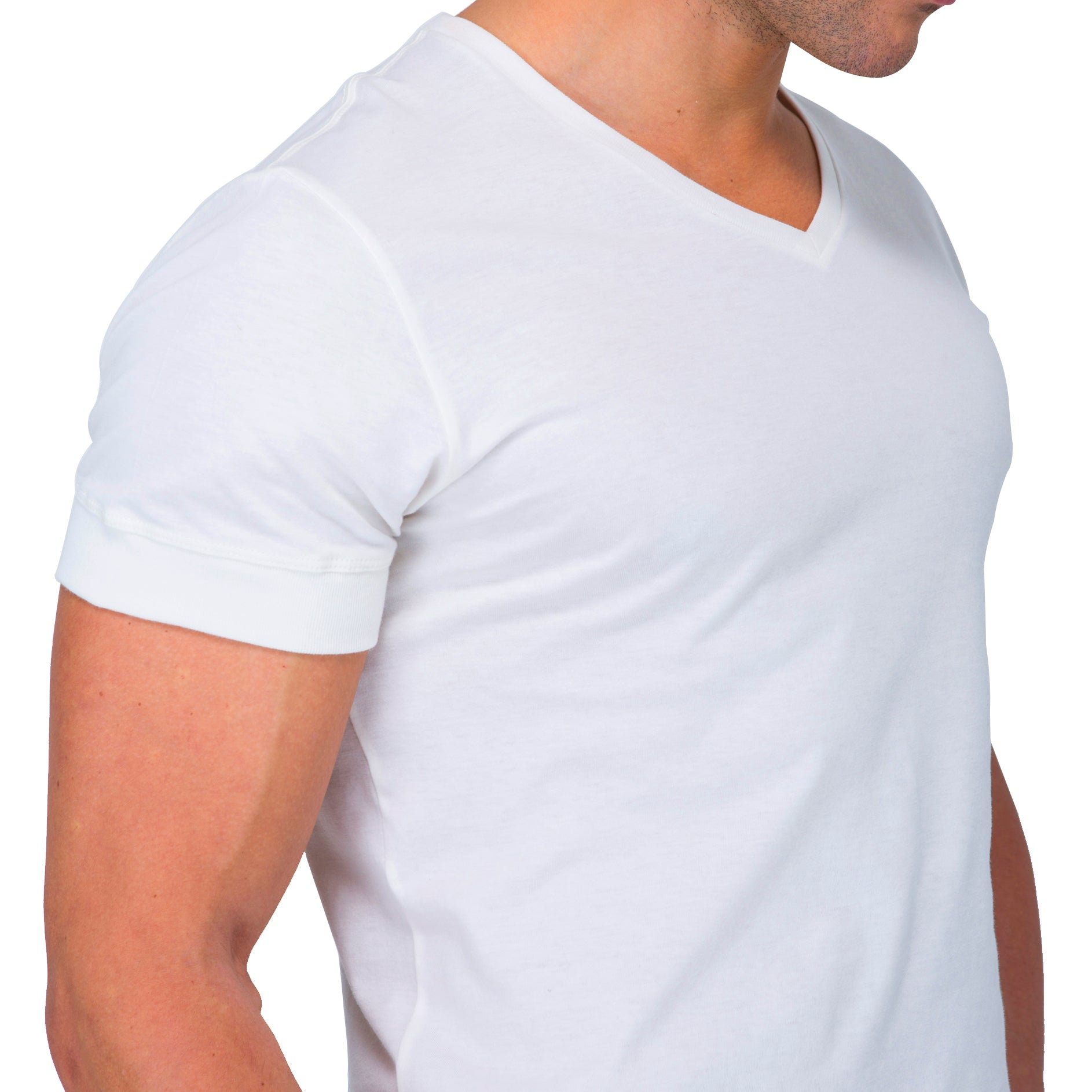 Athletic V-Neck shirts