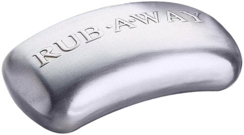 Amco 8402 Rub-a-Way Bar Stainless Steel Odor Absorber Single