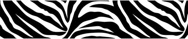 Go Wild Stripe Decal Black 6.5 Inch x 16 Feet Stripes