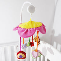 AFUNTA Baby Crib Mobile Music Box Holder Arm Bracket Nut Screw Box Mobile