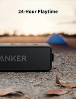 Anker A3105011 Soundcore 2 Portable Bluetooth Speaker with Superior Stereo Sound Black