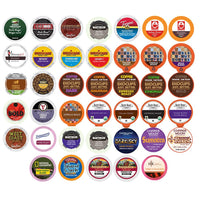 40-count BOLD & DARK ROAST COFFEE Single Serve Cups For Keurig K Cup Brewers Variety Pack Sampler (Bold Sampler)