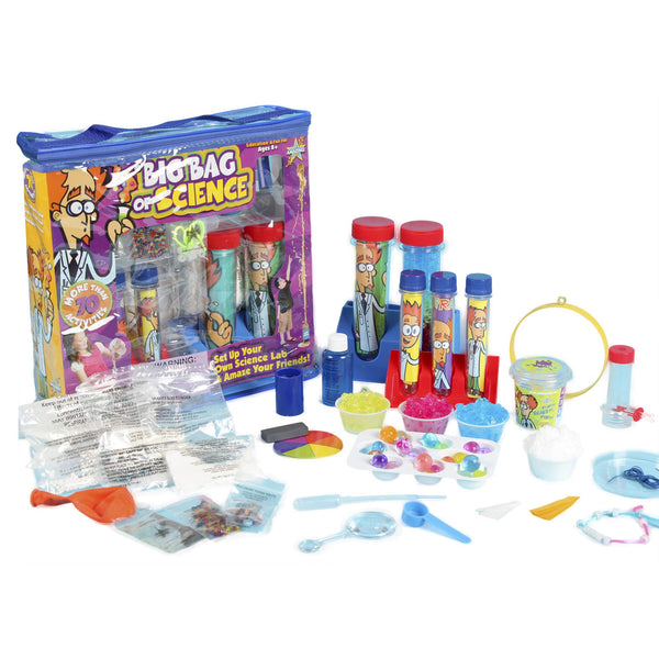 Be Amazing Toys Big Bag Of Science +70 Activities Multi