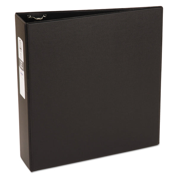"Avery Economy Binder, 3"" Round Rings, 460-Sheet Capacity, Black (03602) 1 Pack 3"""