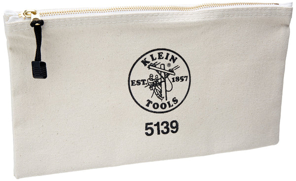 Canvas Zipper Bag Klein Tools 5139
