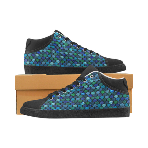 Men's Mermaid Scale Sneaker