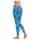 Lisette Leggings- Blue