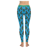 Queen Legging Low Rise Leggings (Invisible Stitch) (Model L05)