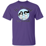 We Mermaid to be Friends Basic Unisex T-Shirt