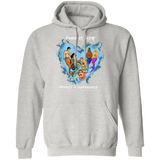 Personalized Merfolk Make a Difference Hoodie