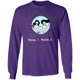 Personalized Mermaid to Be Friends Unisex Long Sleeve T-Shirt