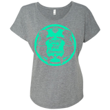 SOFM Signature Green Women's Relaxed Fit Tee
