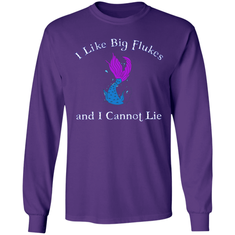 Big Flukes Unisex Long Sleeve T-Shirt