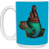 Queen Society of Fat Mermaids 15 oz.Mug