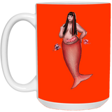 Gina Society of Fat Mermaids 15 oz.Mug