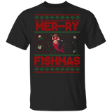 Mermaid Ugly Christmas Sweater- Glory Basic Unisex T-Shirt