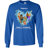 Long Sleeve Youth Merfolk Make a Difference