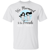 Personalized We Mermaid to be Friends Basic Unisex T-Shirt