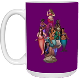 Squad Society of Fat Mermaids 15 oz.Mug