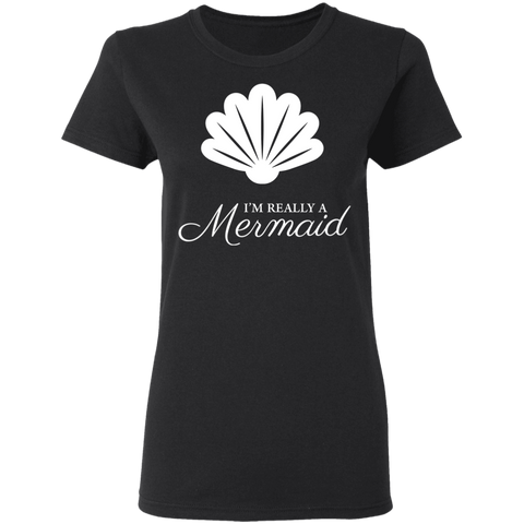 Really a Mermaid Women's Fit Tee