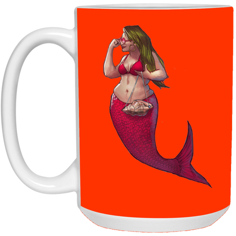 Glory Society of Fat Mermaids 15 oz.Mug