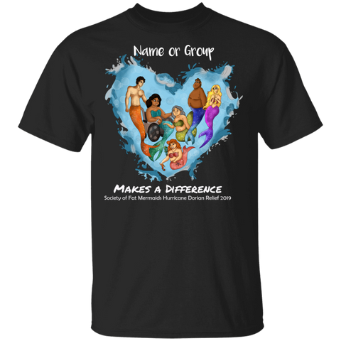 Personalized Merfolk Make A Difference Dorian Basic Unisex