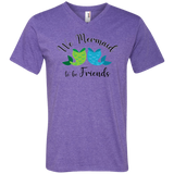 Mermaid to Be Friends Tail Premium Unisex V-Neck