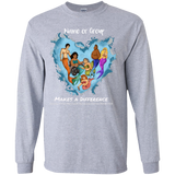 Personalized Long Sleeve Youth Merfolk Make a Difference